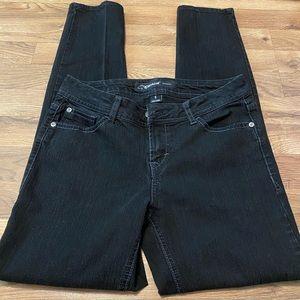 Jordache Size 6 Black Jeans Good Condition